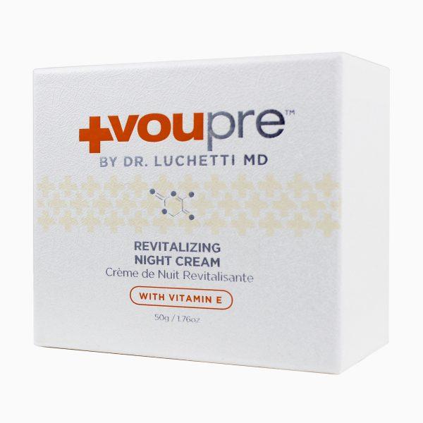 Revitalizing Night Cream in its case